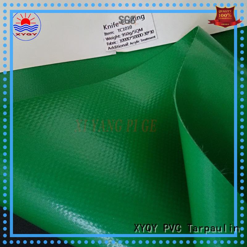 Custom pvc tarpaulin pvc factory for inflatable membrance