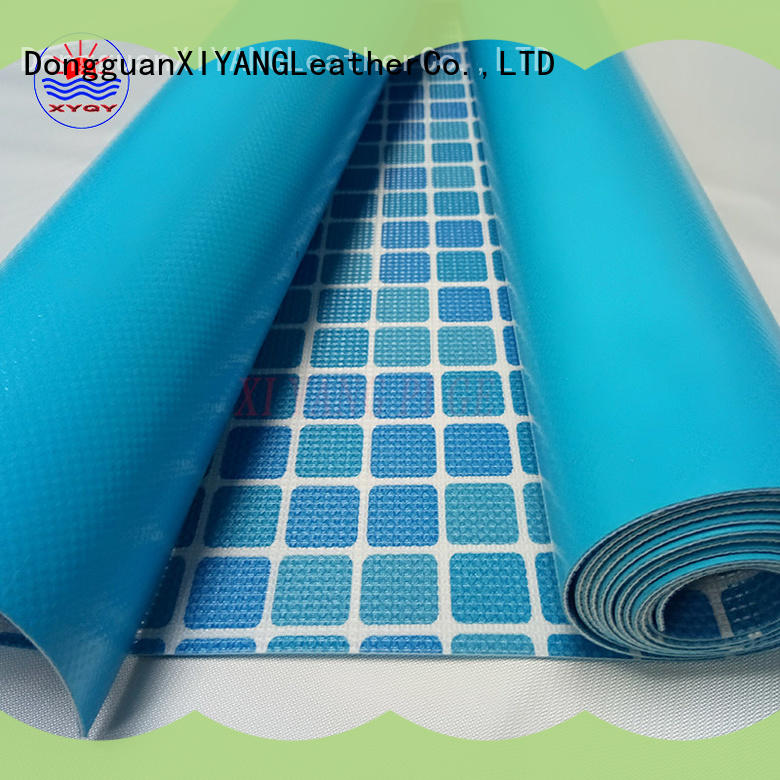 XYQY coated 27 x 54 above ground pool liners Suppliers for swimming pool backing