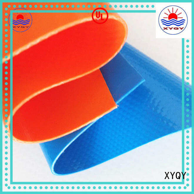 XYQY custom pvc coated polyester fabric with good quality and pretty competitive price for inflatable pools.