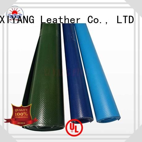 XYQY online pvc tarpaulin with good quality and pretty competitive price for sport