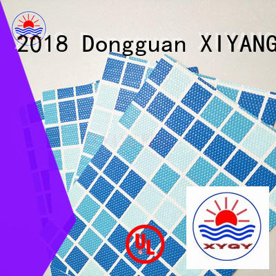 coated tarpaulin fabric with good quality and pretty competitive price for swimming pool backing XYQY