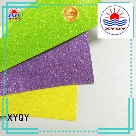 XYQY high quality stretch pvc fabric coated for kids