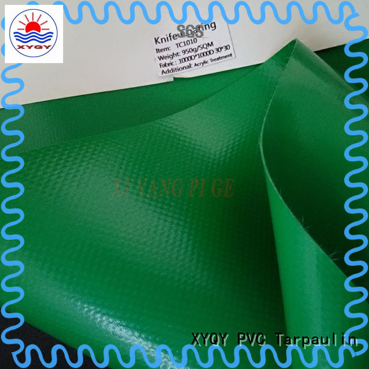 XYQY tension tarpaulin fabric to meet any of your requirements for inflatable membrance