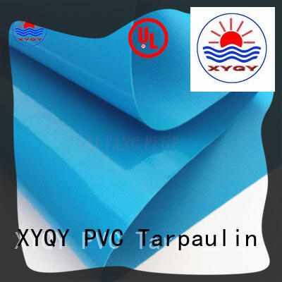 XYQY fabric pvc fabric material with tensile strength for kids