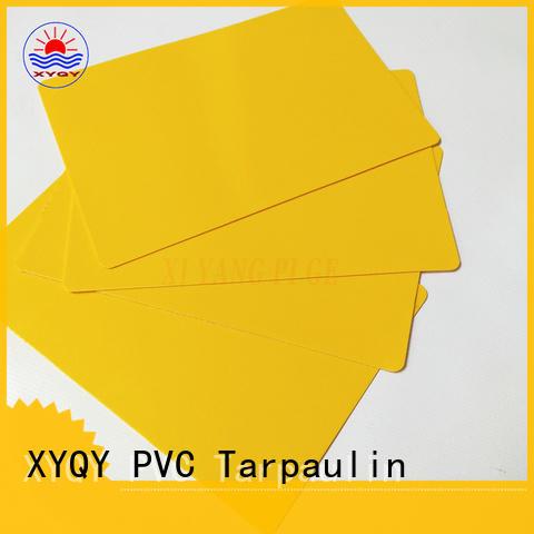 XYQY fabric tarpaulin materials fabrics company for rolling door