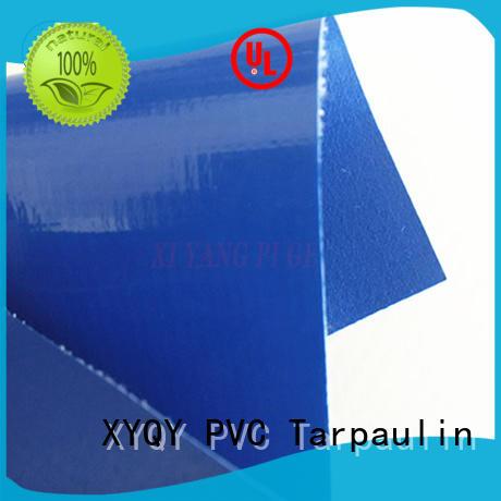 black pvc fabric pvc XYQY