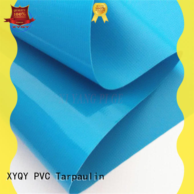 XYQY tarp stretch pvc fabric with good air tightness for kids