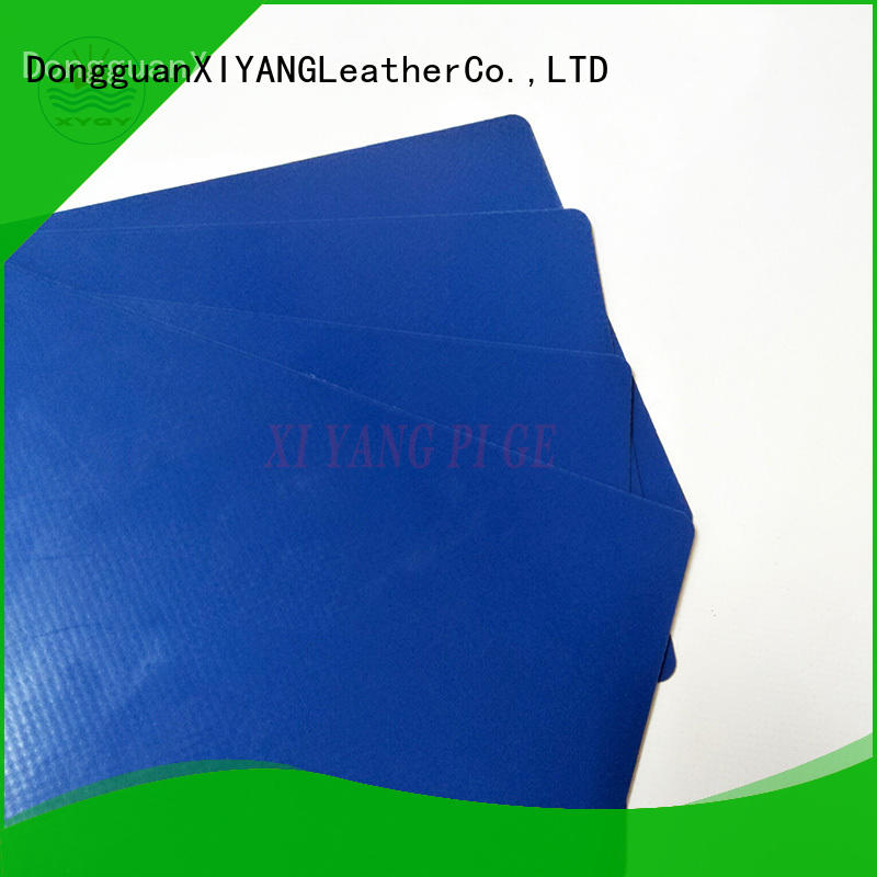 XYQY durable pvc tarpaulin fabric factory for rolling door