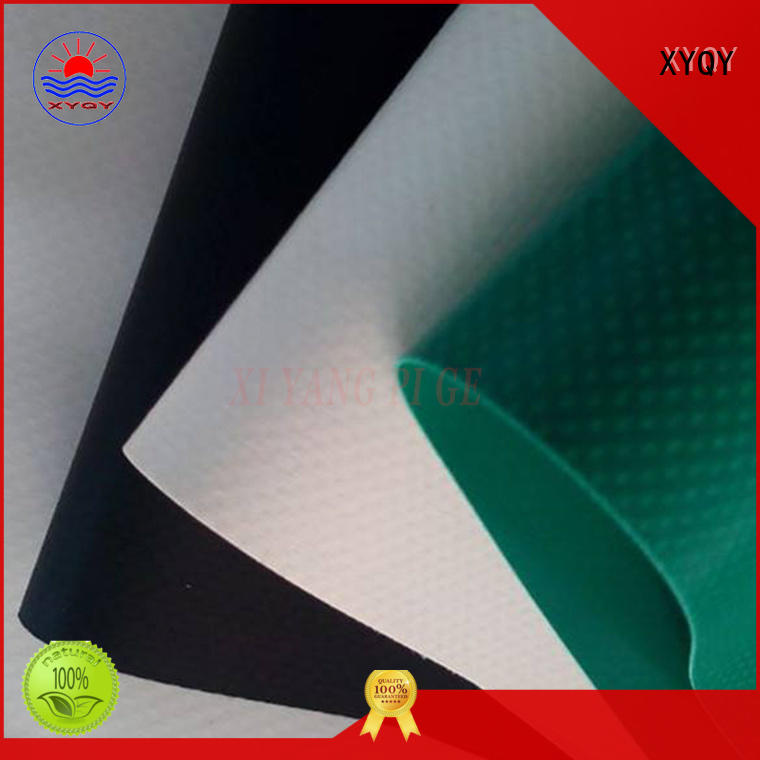 XYQY pvc pvc tarpaulin material factory for inflatable membrance