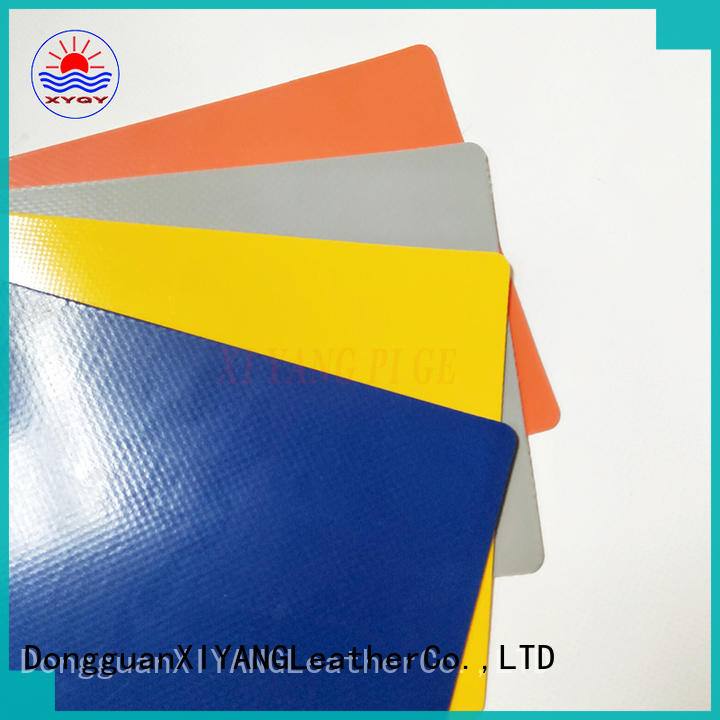 XYQY with good quality and pretty competitive price pvc coated tarpaulin fabric suppliers for outdoor