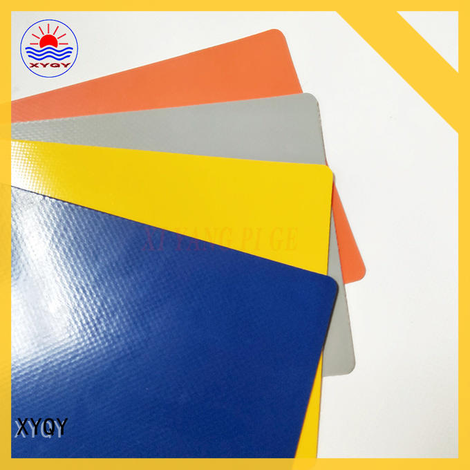 XYQY Wholesale pvc coated tarpaulin fabric for outdoor
