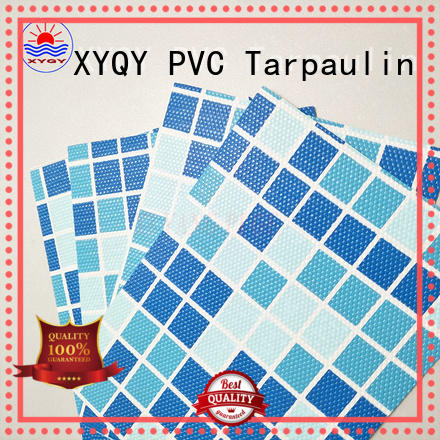 XYQY tensile strength swimming pool fabric with good quality and pretty competitive price for swimming pool