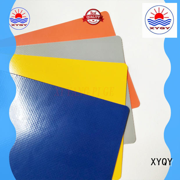 XYQY strength pvc coated tarpaulin fabric Supply for rolling door