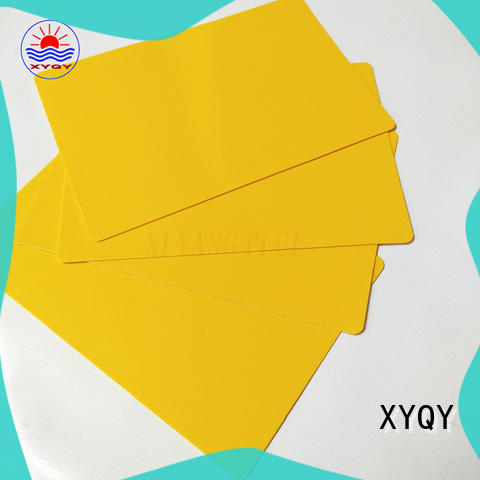 XYQY strength tarpaulin fabric company for outdoor