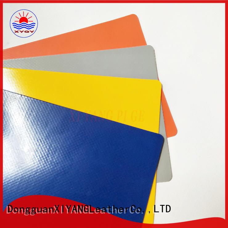 XYQY tarpaulin waterproof tarpaulin fabric for business for rolling door