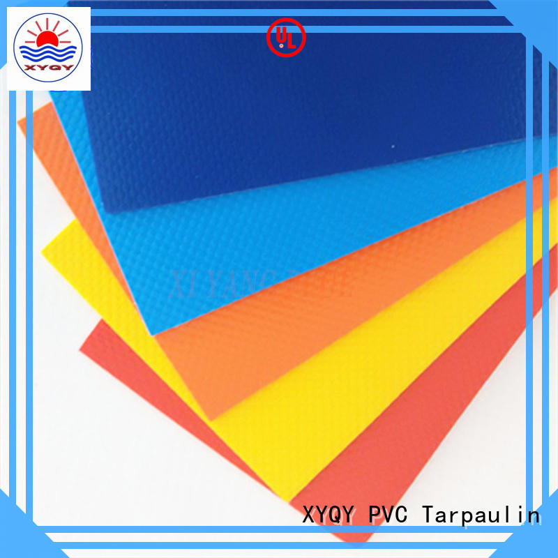 Top stretch polyester fabric online factory for inflatable pools.
