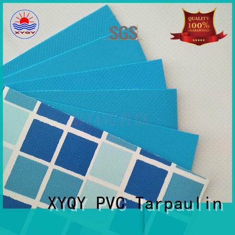 XYQY coated swimming pool fabric on sale for swimming pool